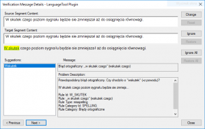 LanguageTool Error Polish 7